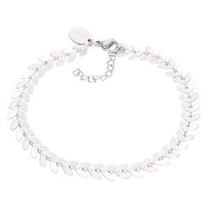 iXXXi Armband Malediven pink/zilver B00382-03