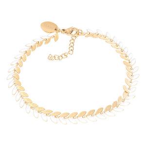 iXXXi Armband Malediven white/goud B00380-01