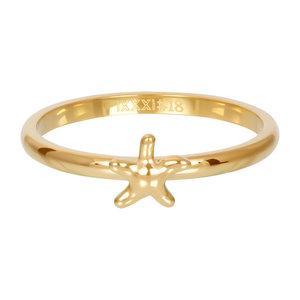 iXXXi Vulring Sea Star goud 2mm