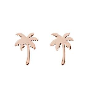 iXXXi oorbellen Palm Tree Rose