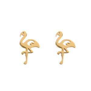 iXXXi oorbellen Flamingo Goud