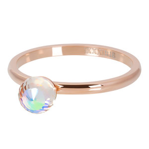iXXXi ring Crystal Glass Ball AB Rose 2mm R04211-02