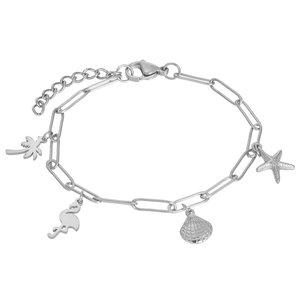 iXXXi Bracelet with Charms, Zilver B0038799003