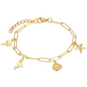 iXXXi Bracelet with Charms Goud, B0038799001