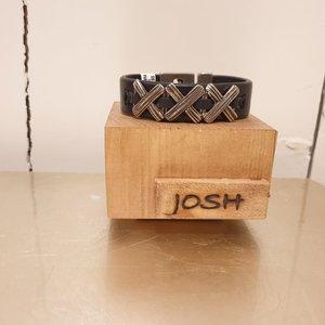 Josh For Him Armband Vlecht 24929