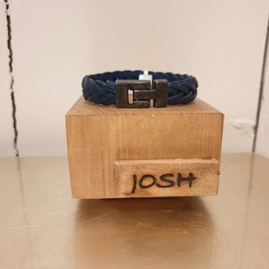 Josh For Him Armband Vlecht