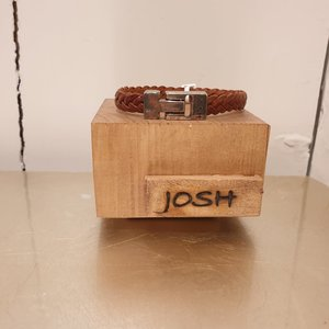 Josh For Him Armband Vlecht 24456 bra