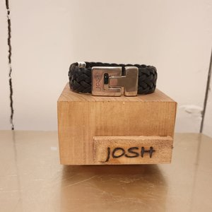 Josh For Him Armband Vlecht 24340