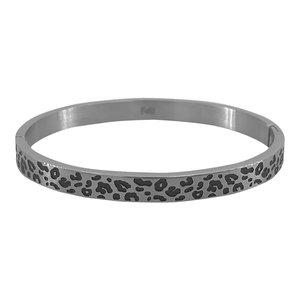 KalliKalli armband 2153 PANTER ZILVER
