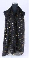 Sjaal-STARS-GOLD