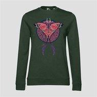 PinnedbyK-sweater-Butterfly-Green
